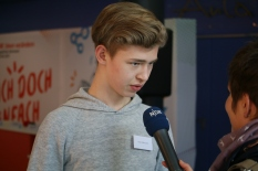 Julian Menschel im Interview mit NDR