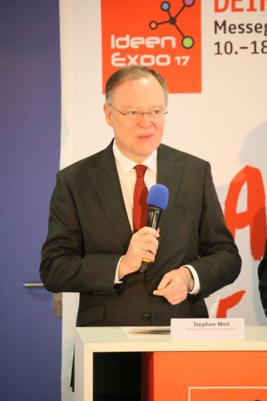 Stephan Weil - Niedersachsend Ministerpräsident