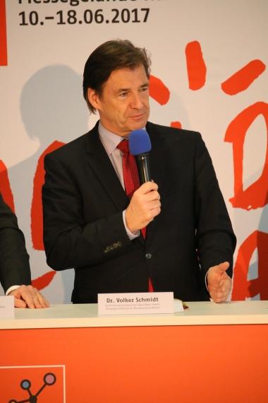 Dr. Volker Schmidt - Aufsichtsratsvorsitzender der IdeenExpo