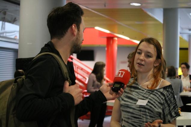Liv Wachtel im Interview mit Radio 21