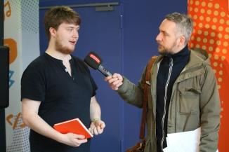 Adrian Schoell im Interview mit Antenne Niedersachsen