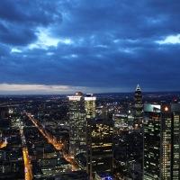 Frankfurt aus dem 56. Stock
