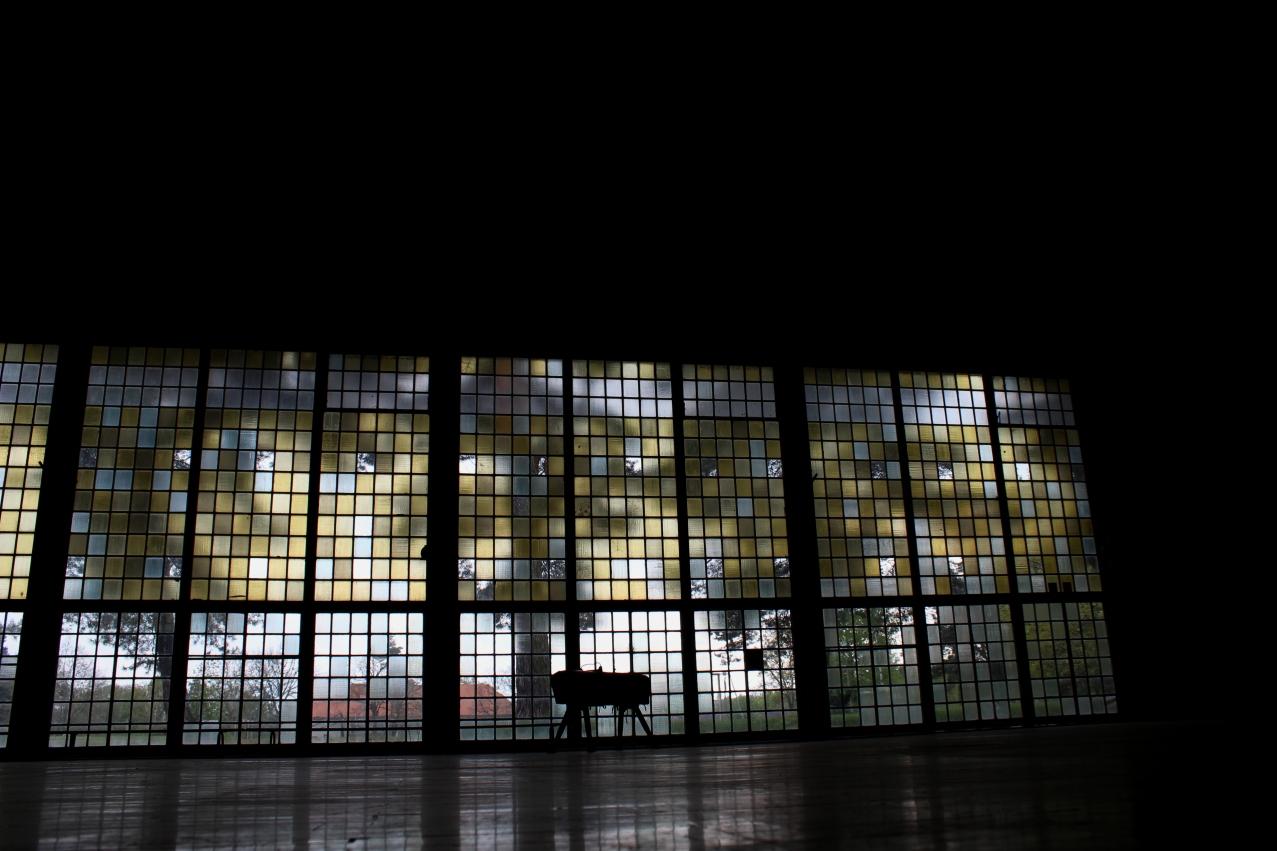Die alte Sporthalle