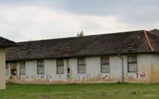 Gebäude mit Zeichnungen