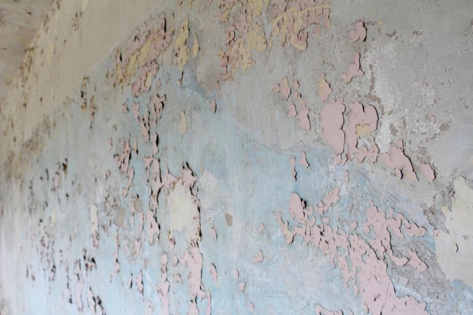 Fragmente einer Wand