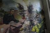 Wandbild im Sowjetzimmer