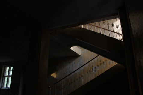 Treppe im Hindenburghaus