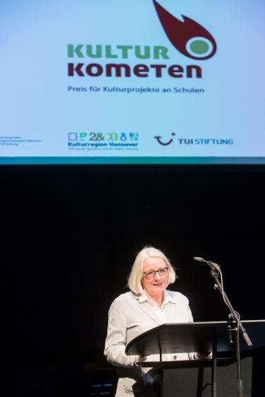 Elke Hlawatschek, Geschäftsführerin TUI Stiftung