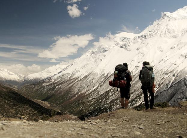 200 Kilometer wandern durchs Himalaya