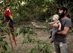 Papageien zum Greifen nah