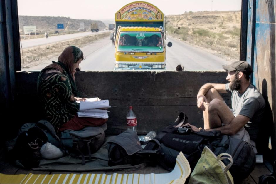 PR 16 Eigentlich wollten wir in Pakistan nicht trampen, am Ende sind es über 1500km. Januar 2014