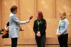 Interview mit Vanessa und Viktoria.