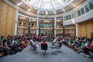 Schülerzeitungskongress 2017 am 7. Juni in der Friedrich-Ebert-Stiftung in Berlin. Foto: Jugendpresse Deutschland/Timon Suhk