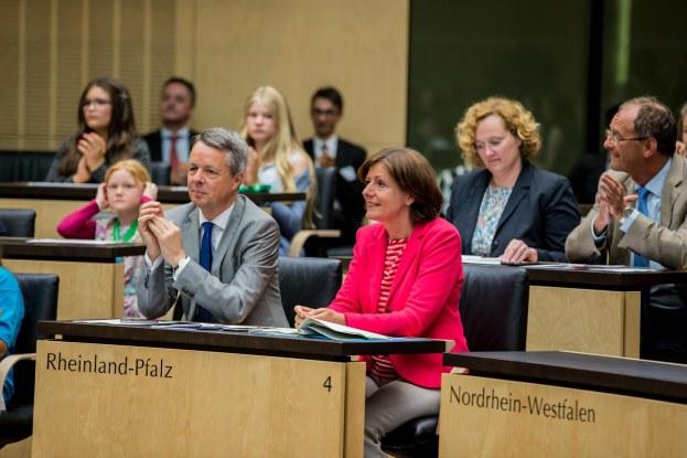 Preisverleihung des Schülerzeitungswettbewerb der Länder 2017 am 8. Juni im Bundesrat Foto: Jugendpresse Deutschland/Timon Suhk