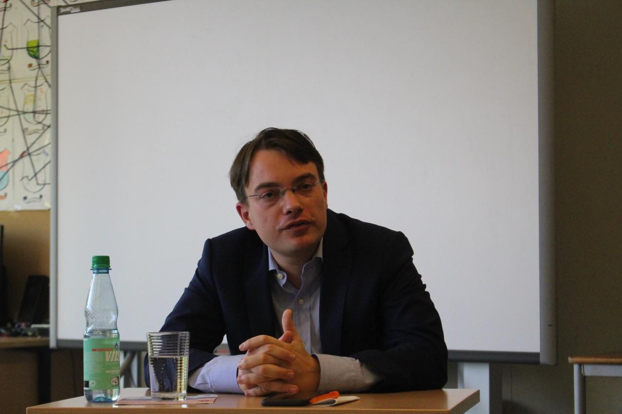 Maximilian Oppel von der CDU